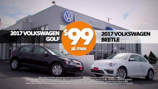 2017 VW Beetle & Golf $ 99/mes Especial [HD]