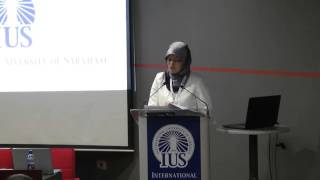 2nd IUS Graduate Conference opening ceremony speeches