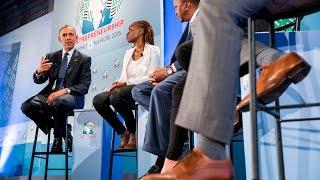 Obama Speaks at the Global Entrepreneurship Summit