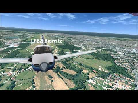 France VFR Aquitaine Pyrénées Pays Basque