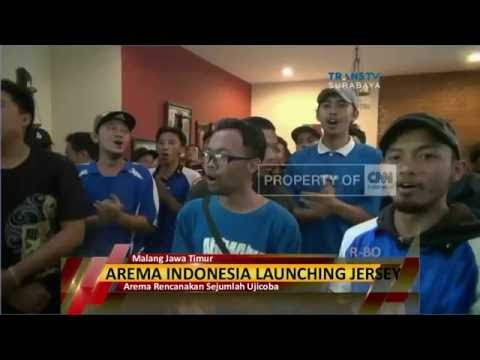 Arema Indonesia Launching Jersey Anyar