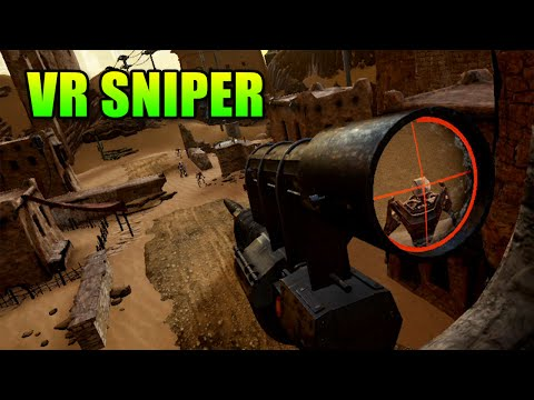VR Sniper - Is Sniping In Virtual Reality Fun? | HTC Vive The Nest Gameplay