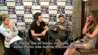 One Direction Video - Entrevista a One Direction por Telehit [Subtítulos en Español] [HD]