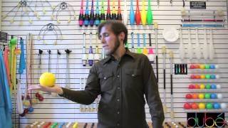Kyle Johnson teaches contact juggling: The Butterfly
