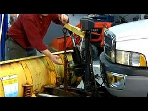 Auto Repair Tips How to Bleed a Plow Cylinder YouTube