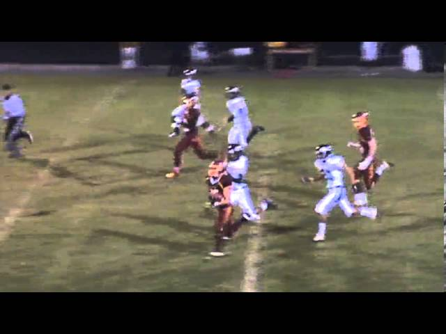10-11-13 - Mikey Gutierrez rumbles 87 yards for a TD (Brush 34, Valley 0)