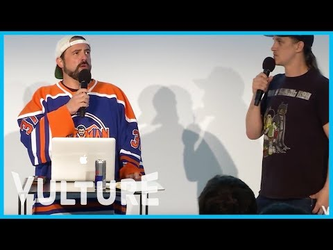 Kevin Smith and Jason Mewes at Vulture Festival 2015