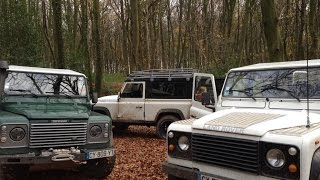Buying a Defender 200 Tdi and first green laning nov15