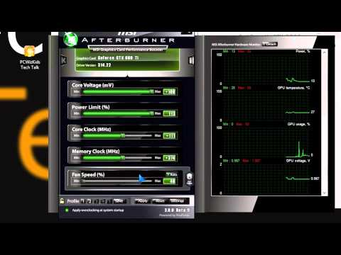 How to Overclocking an Nvidia GPU Performance increase with a GTX 660Ti