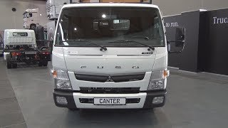 Fuso Canter 7C15 Tipper Truck (2018) Exterior and Interior