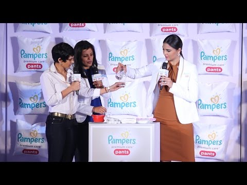 UNCUT - Pampers Premium Care Pants Launch | Lara Dutta | Mandira Bedi