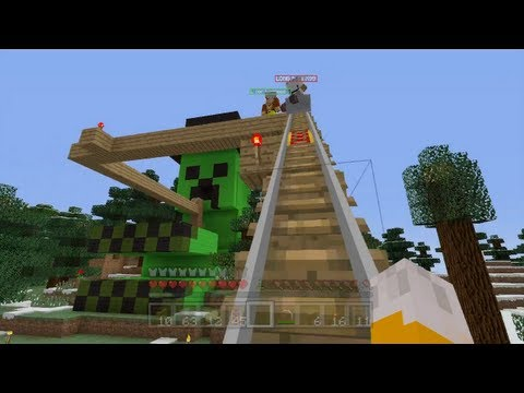Minecraft Xbox — Thrill Ride [55]