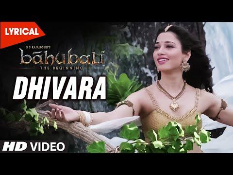 Dhivara Video Song With Lyrics || Baahubali (Telugu) || Prabhas, Anushka Shetty, Rana, Tamannaah