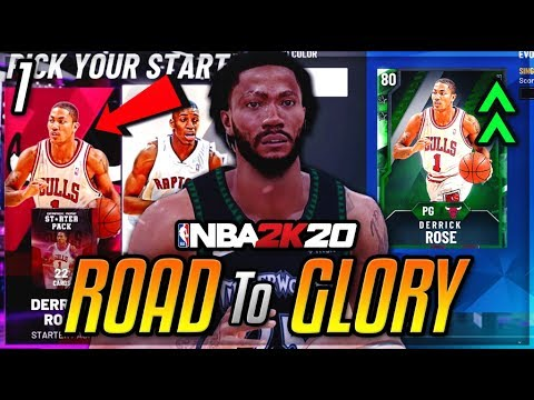 NBA 2K20 ROAD TO GLORY!! #1   Starting The NEW SERIES With The BEST STARTER IN NBA 2K20 MyTEAM!!