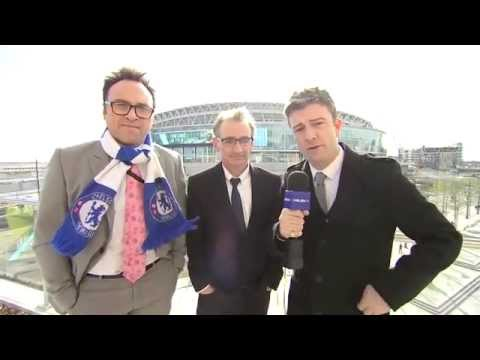 All the build up on Chelsea TV from 1:45pm