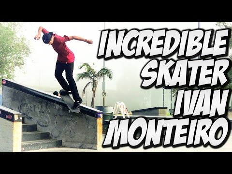 INCREDIBLE SKATER IVAN MONTEIRO !!! - A DAY WITH NKA