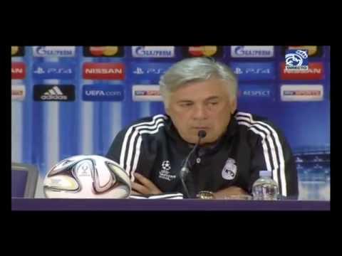 Conferencia de prensa de Ancelotti, Casillas y Bale previa al Real Madrid-Sevilla