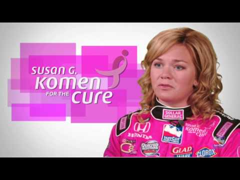 Sarah Fisher & Susan G. Komen Video