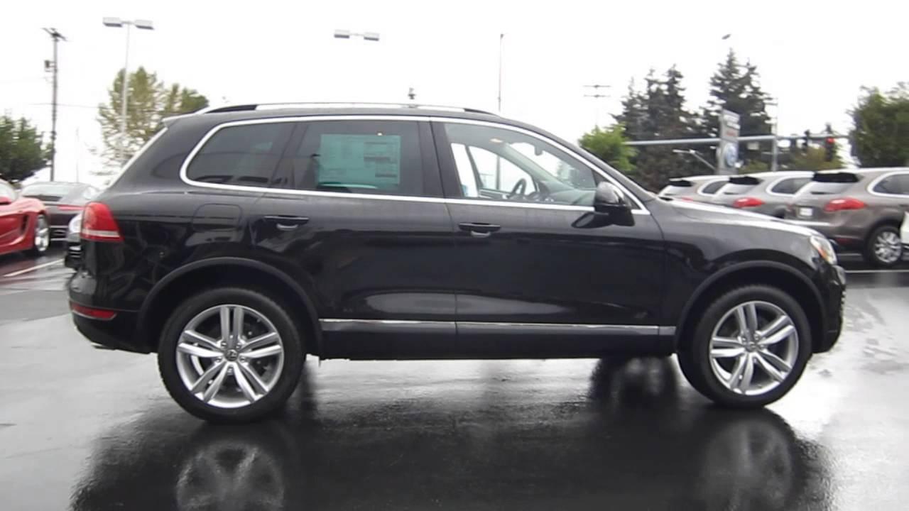 2014 Volkswagen Touareg Black Stock 109489 Youtube