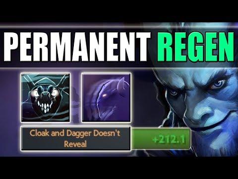 Permanent Invisibility = Infinite Regeneration [Riki Invis + Shadow Dance Heal] Dota 2 Ability Draft