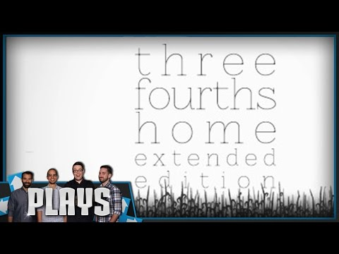 Let's Play Three Fourths Home - Kinda Funny Plays