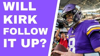Will Kirk Cousins back it up? What to expect after big win over Eagles [Lions-Vikings preview]