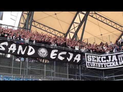 2017-07-16 Lech Poznań - Sandecja 0-0, Sączersi W Poznaniu!