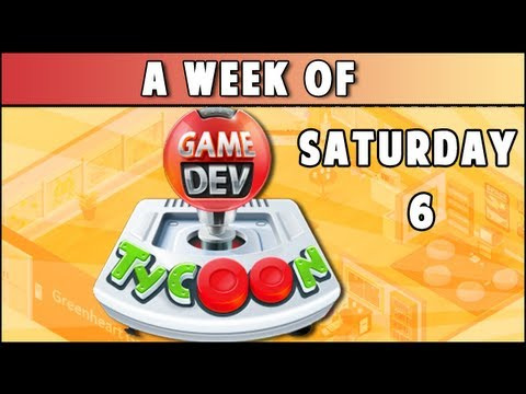 A Week of - Game Dev Tycoon! (Saturday- Cultivate The Herd) - YouTube