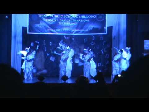 Bihu Dance...... Army School Shillong... video