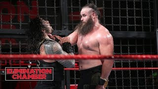 Braun Strowman leaves a path of destruction: WWE Elimination Chamber 2018 (WWE Network Exclusive)