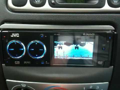 jvc kd-avx1 in car stereo dvd player