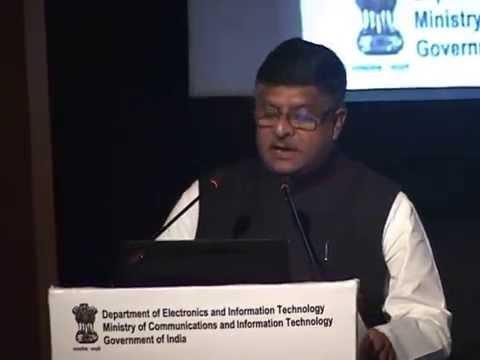 Digital India Conference: Speech by Shri Ravi Shankar Prasad (Part 1)