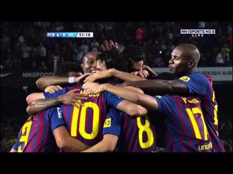 16. Messi 29-08-11 F.C. Barcelona - Villareal C.F. (2ª Jornada 4-0)