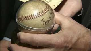Lost Honus Wagner Autographed Baseball Found in State Vault