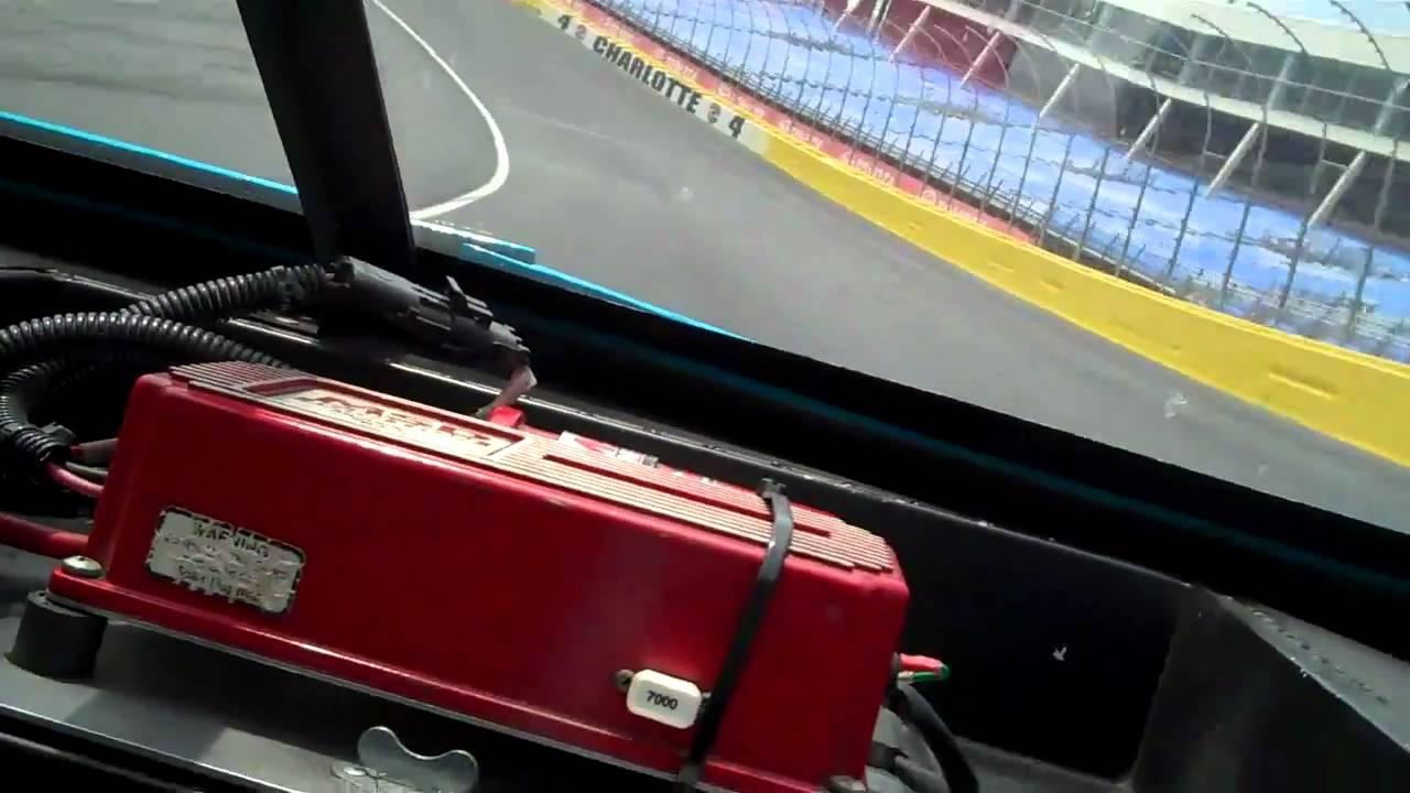 Richard petty ride along charlotte motor speedway youtube for Nascar ride along charlotte motor speedway