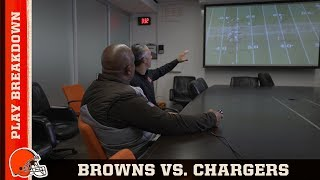 Hue Jackson breaks down plays versus the Chargers   Cleveland Browns