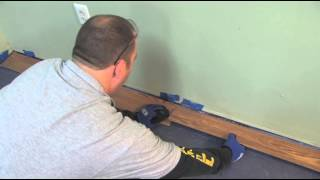 Flooring 101: How to Install Laminate Flooring (Lock & Fold Method) | Lumber Liquidators
