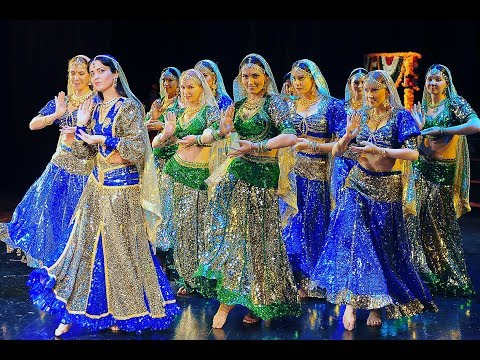 Wanna be my chammak challo Indian Dance Group Mayuri Petrozavodsk...
