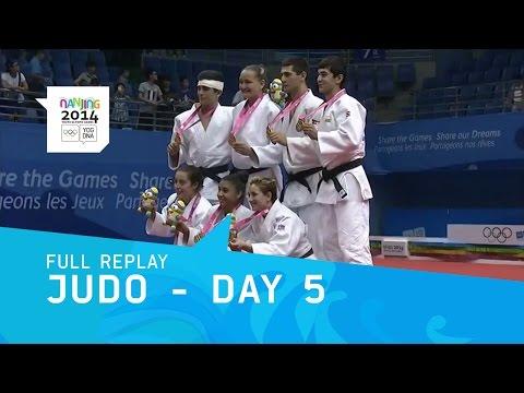 Judo - Mixed Team Final | Full Replay | Nanjing 2014 Youth Olympic Games