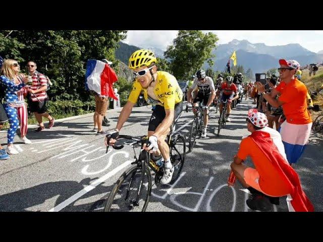Tour de France: Geraint Thomas keeps the yellow jersey