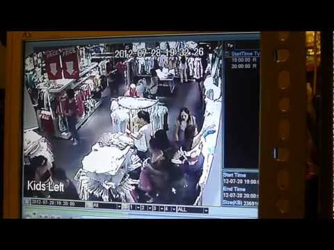 CCTV of Pickpocket Incident in Terranova, SM Mall of Asia :(