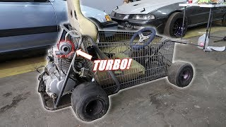 The Shopping Go Kart Gets a Turbo!
