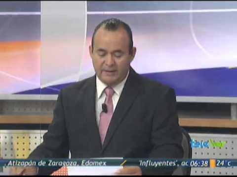 Noticieros Televisa Veracruz - Declaraciones Procurador sobre fosas en Tres valles