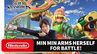 "Super Smash Bros. Ultimate – Mr. Sakurai Presents ""Min Min"""