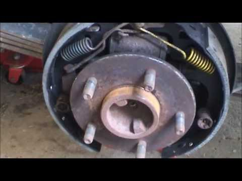 1991 Chevrolet S 10 Rear Brake Shoe Replacement Youtube