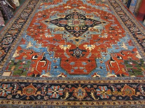 Beautiful Afghan Rugs in Tribal Designs from Paradise Oriental Rugs, Inc.
