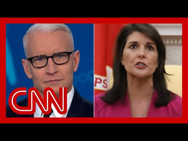 Nikki Haley said Trump is truthful. Cooper rolls the tape thumbnail
