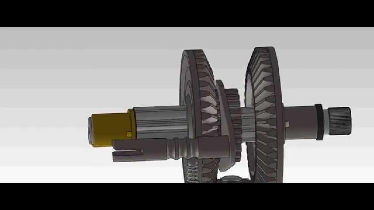 Gear Shaft Assembly Internal Gear Shaft Assembly