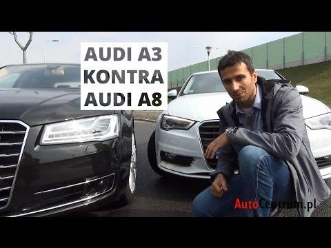 [PL] Audi A3 Limousine vs. Audi A8 Lang - test AutoCentrum.pl