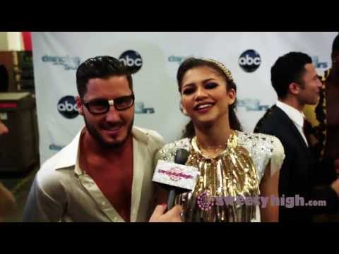 Zendaya, Aly Raisman and Kellie Pickler On the DWTS Red Carpet